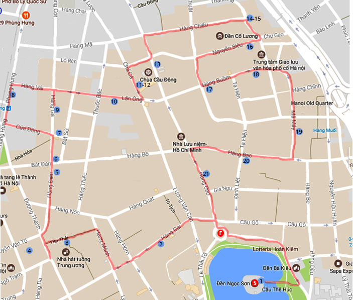 hanoi-walking-map